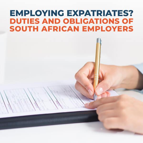 Employing Expatriates