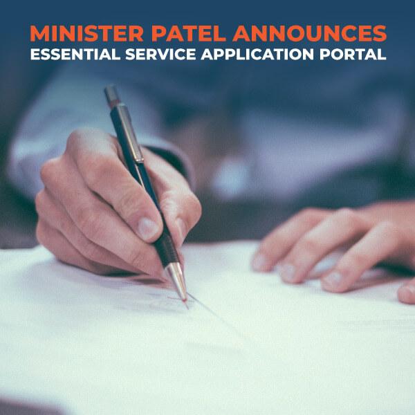 Minister-Patel-Announces-Essential-Service-Application-Portal