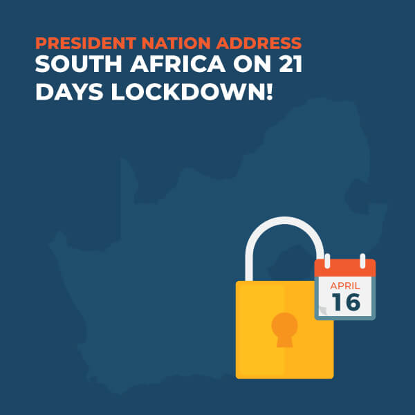 President-Nation-Address-South-Africa-21-Day-Lockdown
