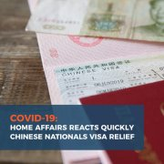 Visa Relief: Home Affairs Moves Quickly to Protect South African Business Interests with China Amidst Coronavirus