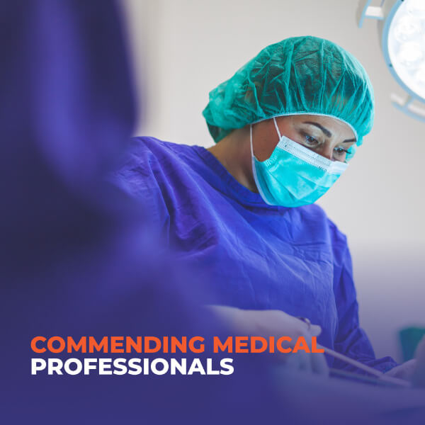 Commending-Medical-Professionals