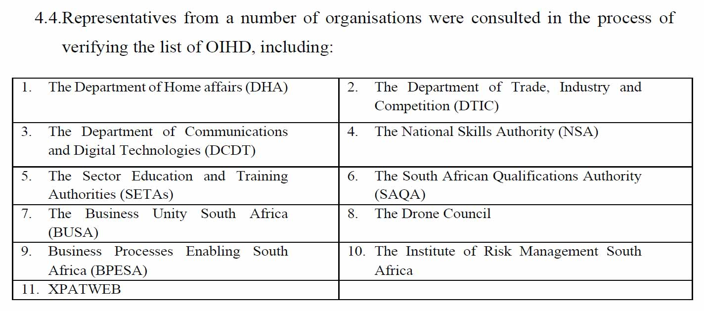4.4-Representatives From a Number Of Organisations