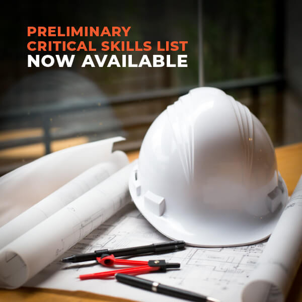 Preliminary Critical Skills List Now Available