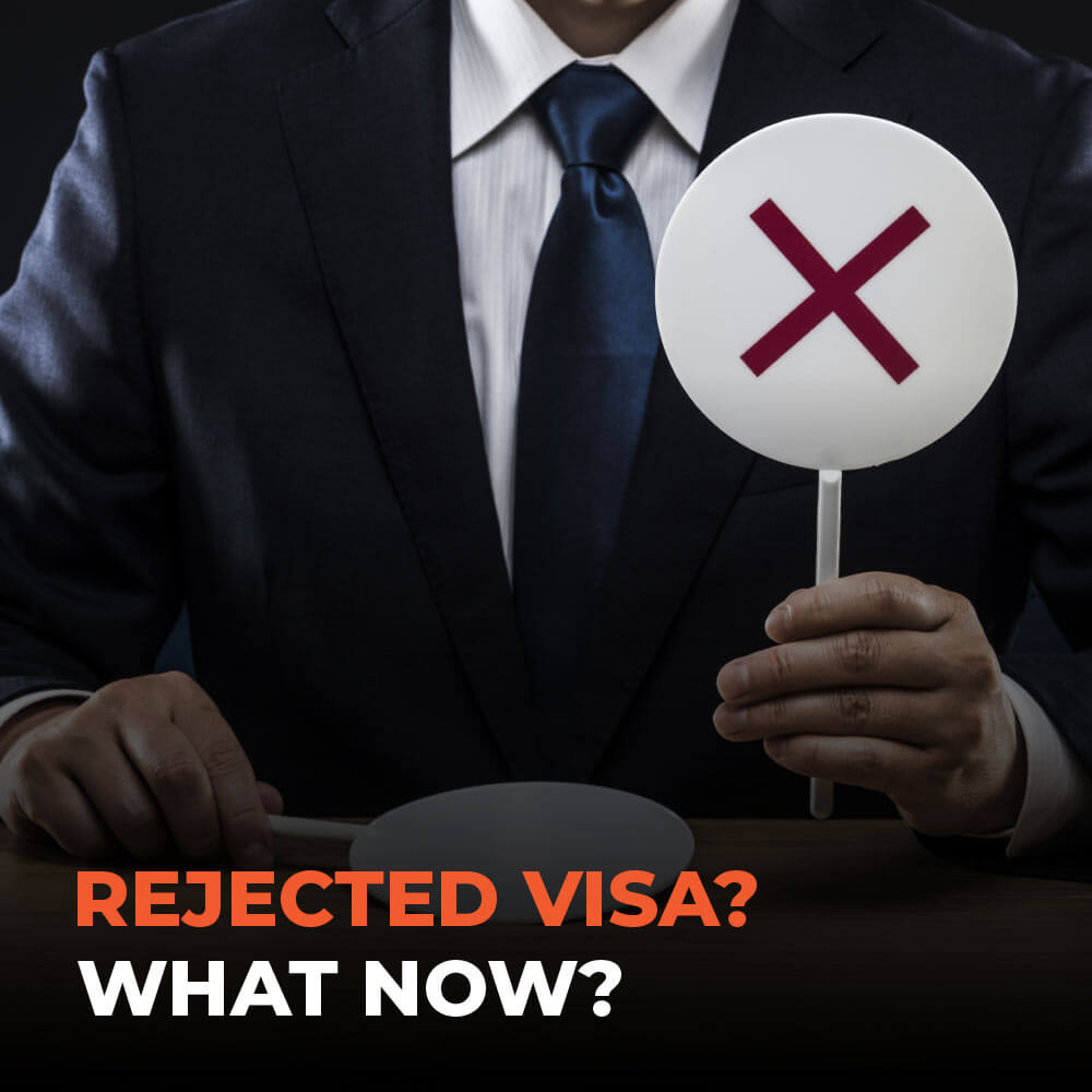 Rejected Visa? What Now?